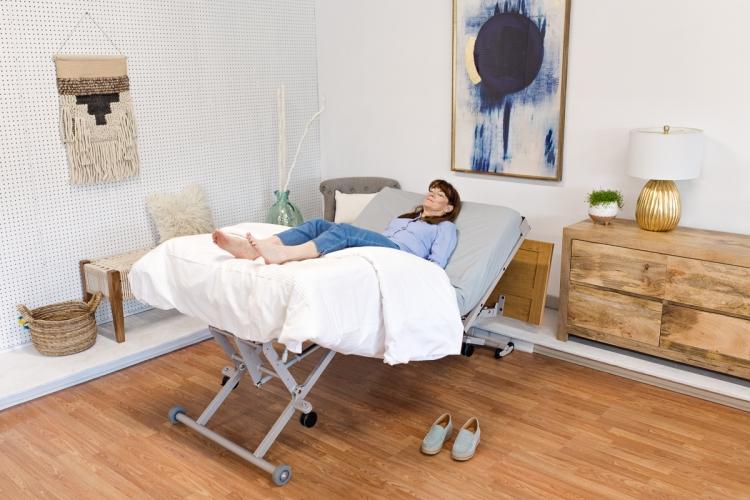 La position zéro-gravité pour la détente et le soulagement de la douleur.